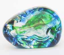 Playing With Fire - Glass Paperweight